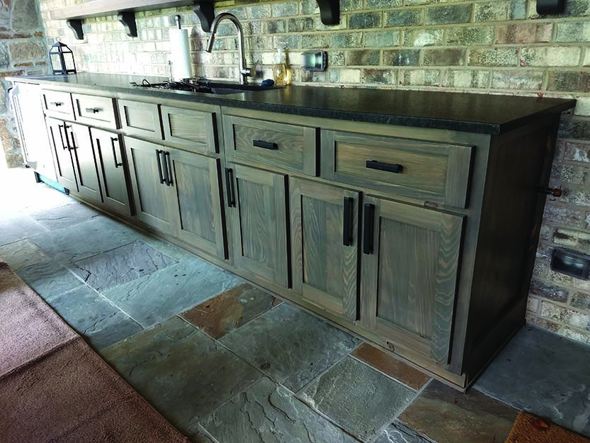Outdoor Cabinetry Open To Southern Cypress Building Products